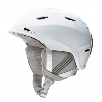 Casque de Ski/Snow Smith Femme Arrival White