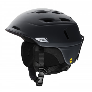 Casque de Ski Smith CAMBER MATTE BLACK Homme Noir