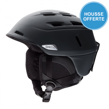 Casque de Ski/Snow Smith CAMBER MATTE BLACK