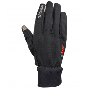 Gants Windstopper Eider Windsper E.t 2.0 Gloves Black - Noir