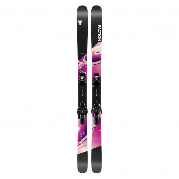 Pack Ski Faction Prodigy 2.0 (Taille171) + Fixations warden mnc 11 Homme Noir