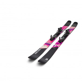 Pack Ski Faction Prodigy 2.0 (Taille183)+ Fixations warden mnc 11 Homme Noir