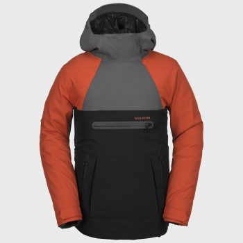 Veste Homme de Ski / Snow Volcom BRIGHTON P/OVER BURNT ORANGE