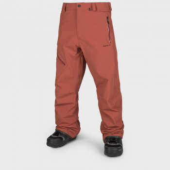 Pantalon Homme de Ski / Snow Volcom L GORE-TEX BURNT ORANGE