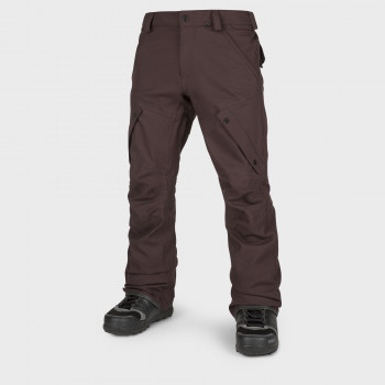 Pantalon Homme de Ski / Snow Volcom ARTICULATED BLACK RED