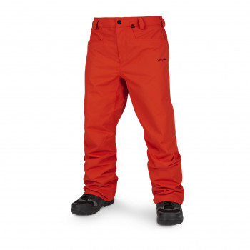 Pantalon Ski/Snow Volcom Carbon Orange Homme