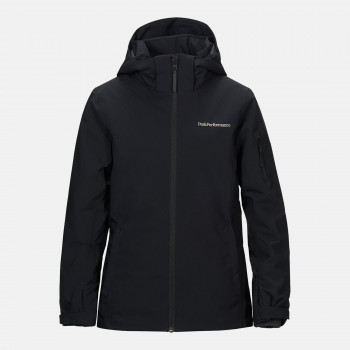 Veste de Ski/Snow Peak Performance Jr Anima Jacket Black Garçon