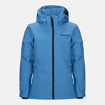 Veste de Ski/Snow Peak Performance Jr Anima Jacket Blue Elevation Garçon
