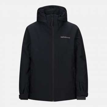 Veste de Ski/Snow Peak Performance Jr Maroon Jacket Black Garçon