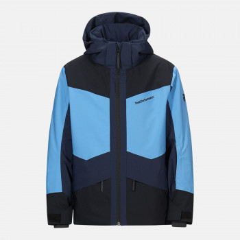Veste de Ski/Snow Peak Performance Jr Gravity Jacket Blue Elevation Garçon