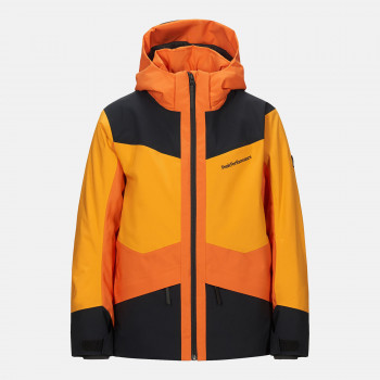 Veste de Ski/Snow Peak Performance Jr Gravity Jacket Blaze Tundra Garçon