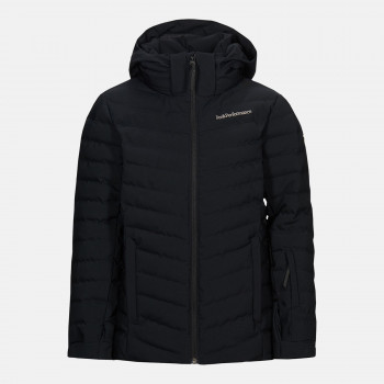Veste de Ski/Snow Peak Performance Jr Frost Ski Jacket Black Garçon