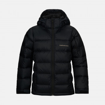 Doudoune Peak Performance Jr Frost Down Jacket Black Garçon