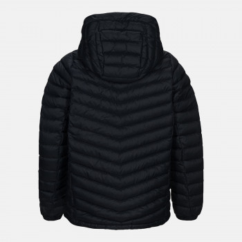 Doudoune Peak Performance Jr Frost Down Hood Jacket Black Garçon