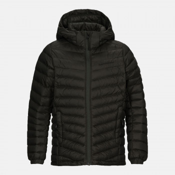 Doudoune Peak Performance Jr Frost Down Hood Jacket Coniferous Gre Garçon