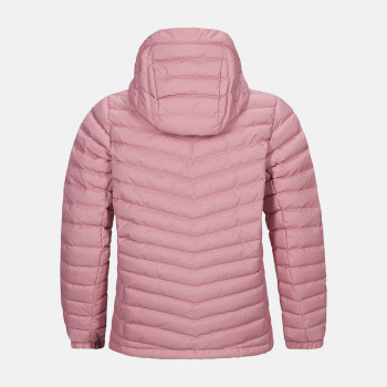 Doudoune Peak Performance Jr Frost Down Hood Jacket Frosty Rose Fille