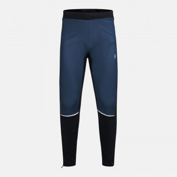 Pantalon 1ere Couche Peak Performance M Alum Winter Tights Blue Steel Homme
