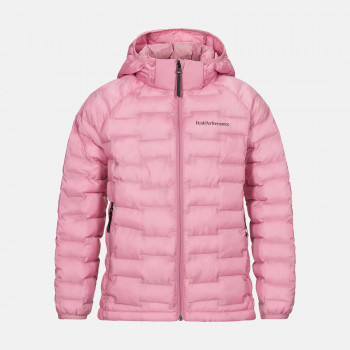 Doudoune Peak Performance Junior Argon Light Hood J Frosty Rose Fille
