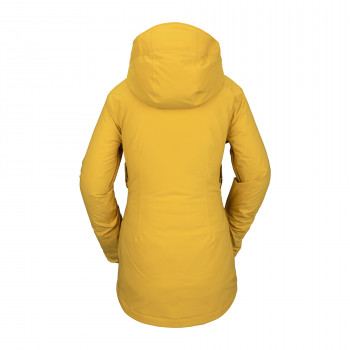 Veste de Ski/Snow Volcom 3d Stretch Gore Jacket Resin Gold Femme