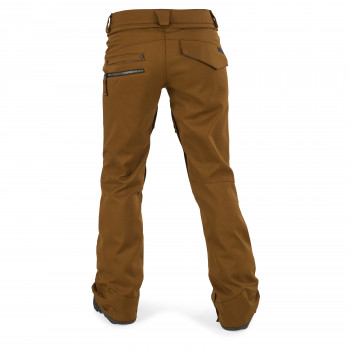 Pantalon Membrane Volcom Species Stretch Copper Femme
