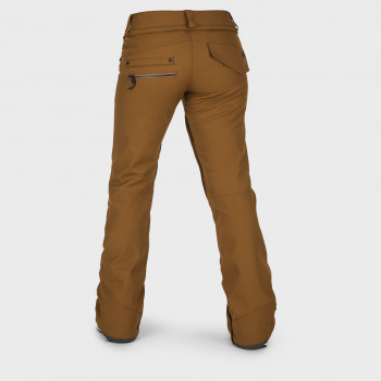 Pantalon Femme de Ski / Snow Volcom SPECIES STRETCH COPPER