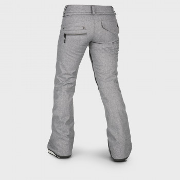 Pantalon Femme de Ski / Snow Volcom SPECIES STRETCH HEATHER GREY