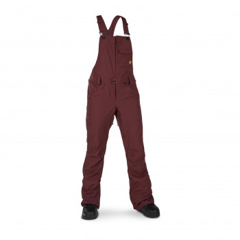 Pantalon Ski/Snow Volcom Swift Bib Overall Rouge Femme