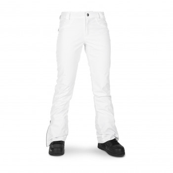 Pantalon Ski/Snow Volcom Battle Stretch Blanc Femme