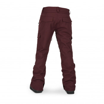 Pantalon Ski/Snow Volcom Grace Stretch Rouge Femme