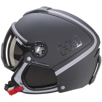 Casque de Ski/Snow HMR H3 Noir / Argent