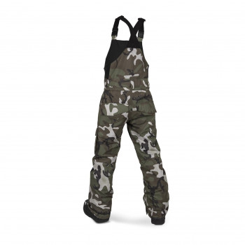 Pantalon Ski/Snow Volcom Barkley Bib Overall Multicolor