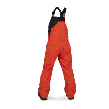 Pantalon Ski/Snow Volcom Barkley Bib Overall Orange