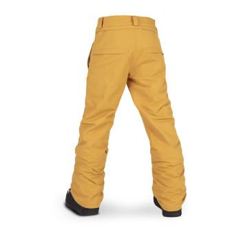 Pantalon Ski/Snow Volcom Freakin Snow Chino Jaune