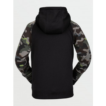 Sweat A Capuche Volcom Youth Riding Fleece Army Garçon