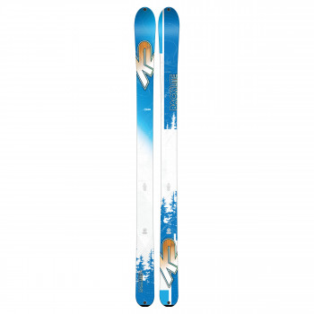 Ski Backlite 74 Bleu K2 Homme (Skis sans Fixations)