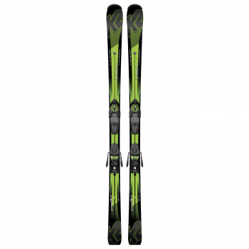 Pack Ski Charger + Fixations M3 11 TCx Light Vert K2 Homme