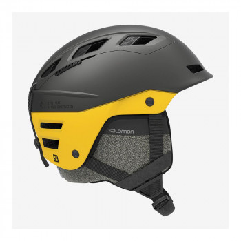 Casque de Ski Salomon QST CHARGE Gris Homme