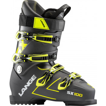 Chaussures De Ski Lange Sx 100 (anthracite-yellow) Homme