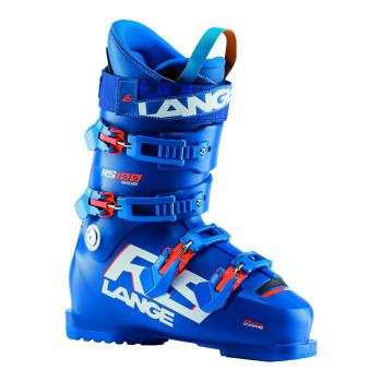 Chaussures De Ski Lange RS 100 WIDE Homme Bleu