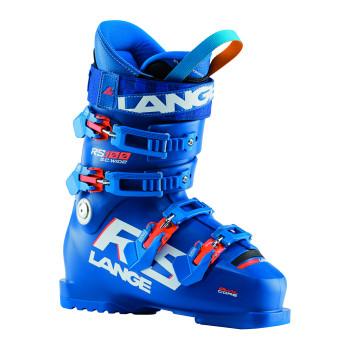 Chaussures De Ski Lange RS 100 S.C. WIDE Enfant Bleu