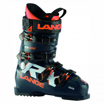 Chaussures de Ski Lange RX 120 - BLACK BLUE/ORANGE Homme