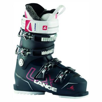 Chaussures de Ski Lange LX 80 W - BLACK BLUE/CIBER RED Femme