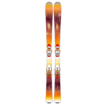Pack Ski LUV Machine 74 + Fixation Ti ERC 11 TC K2 Femme
