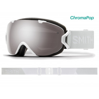 Masque de Ski/Snow Smith I/OS WHITE VAPOR ChromaPop Sun Platinum Mirror