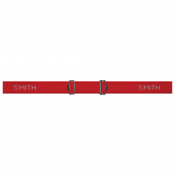 Masque de Ski/Snow Smith RANGE RED SOLX SP AF Cat 3 Homme Rouge