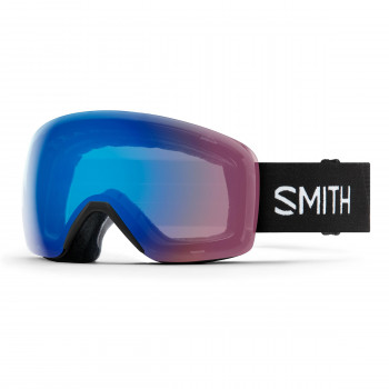 Masque de Ski/Snow Smith  Skyline Cat  S1 Chromapop Strom Rose Flash Noir