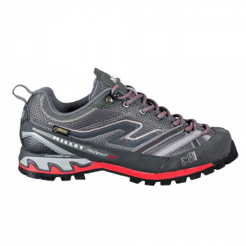 Chaussures Basses D'alpinisme Gore-Tex Millet LD TRIDENT GTX HIBISCUS/HEATHER GREY Femme