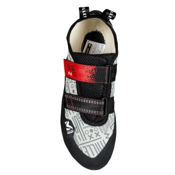 Chaussures Basses De Randonnée Millet EASY UP GREY/RED Homme