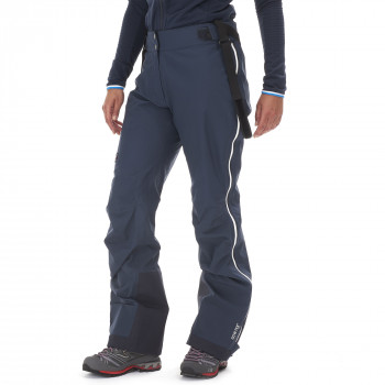 Pantalon d'Alpinisme Gore-tex Millet Trilogy Pro Bleu Femme