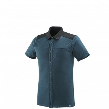Chemise Millet CLOUD PEAK WOOL ORION BLUE